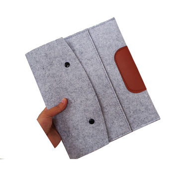Wool Felt design Sleeve protective Case For iPad 5 iPad AIR Tablet bag Universal,shockproof cover pouch for AIR2 apple 9.7 inch