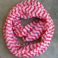 Candy Stripe Infinity Scarf [1143] - $14.00 : Vintage Inspired Clothing & Affordable Fall Frocks, deloom | Modern. Vintage. Crafted.