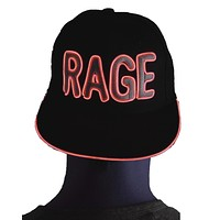 Light Up Hat - Rage