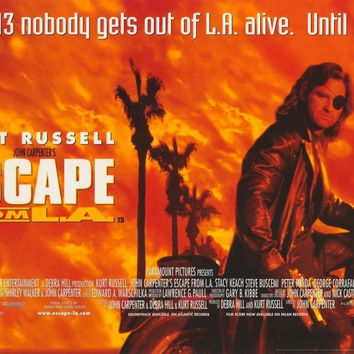Escape From L.A. 11x17 Movie Poster (1996)