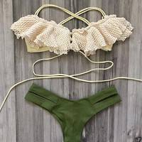 sexy lace bikini swimsuit