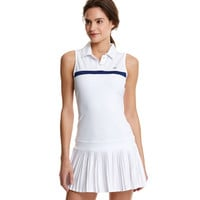 Sleeveless Pleated Tennis Dress