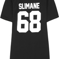 LPD New York | Team Slimane printed cotton-jersey T-shirt | NET-A-PORTER.COM