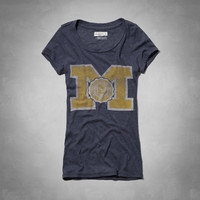 University Of Michigan Graphic Tee