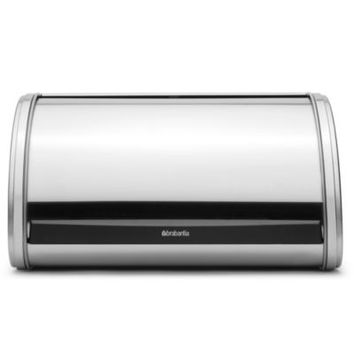 Brabantia® Medium Roll Top Bread Bin in Brushed Stainless Steel