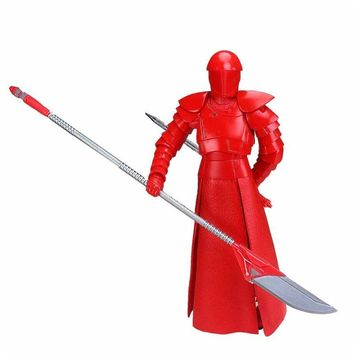 """Star Wars Force Episode 1 2 3 4 5 Limited Edition 6""""  VIII The Last Jedi Black Series Elite Praetorian Guard Heavy  Action Figure Movie Kid Gift Toy AT_72_6"""