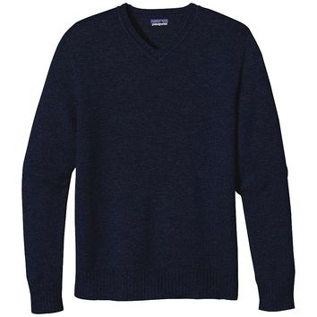 Patagonia Lambswool V-Neck Sweater - Men's