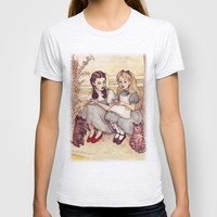 Dorothy and Alice T-shirt by Helen Green