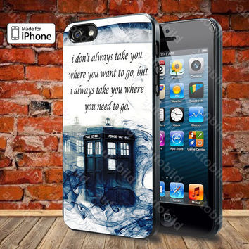 Tardis Smoke Case For iPhone 5, 5S, 5C, 4, 4S and Samsung Galaxy S3, S4