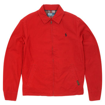 Polo Ralph Lauren | Landon Windbreaker Jacket (Red) | Six Whiting Street