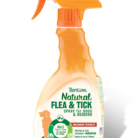 TropiClean Natural Flea & Tick Bedding Spray 16 oz