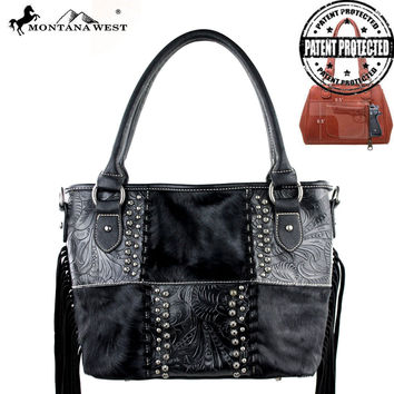 Montana West MW178G-8317 Concealed Carry Handbag