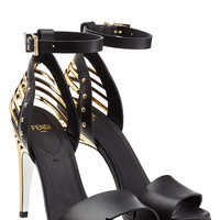 Fendi - Leather Sandals