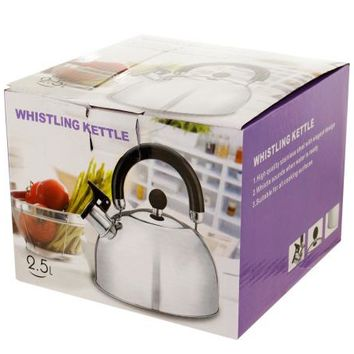 Whistling Stainless Steel Tea Kettle ( Case of 4 )