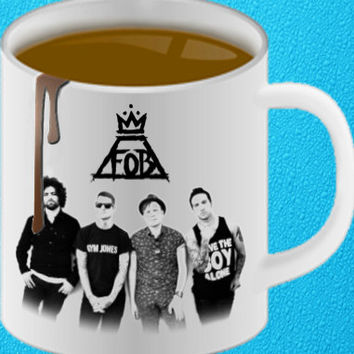 Fall Out Boy FOB heppy coffee.