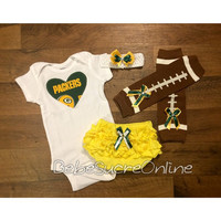 Green Bay Packers Game Day Outfit