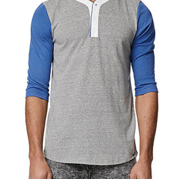 On The Byas Mitt Baseball Henley T-Shirt at PacSun.com