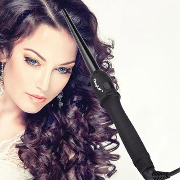 19MM Fast Ceramic Hair Curler PRO LCD Screen Hair Curling Iron Salon Hair Care Styling Tools Hair Curlers Rollers with Glove