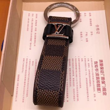 Louis Vuitton Lv M62709 Dragonne Key Holder Brown Style 1