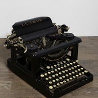 Vintage LC Smith Typewriter
