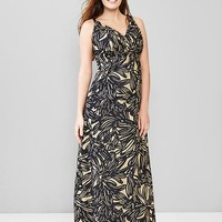 Gap Women Print Maxi Dress