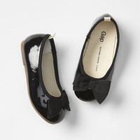 Gap Bow Shine Ballet Flats