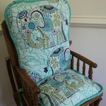 Bohemian Boho Elephant  High Chair Cushions