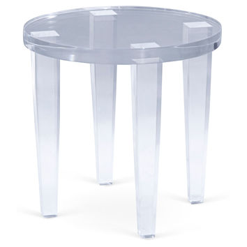 Alexis Side Table, Acrylic / Lucite, Standard Side Tables