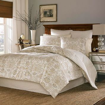 Stone Cottage Belvedere 3-pc. Reversible Duvet Cover Set (Beige/Khaki)