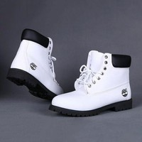 Timberland Rhubarb boots for men and women shoes waterproof Martin boots lovers I-2
