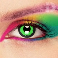 iD Lenses Green Elf Coloured Contacts