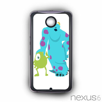 monsters inc mike and sully for Nexus 6 phonecases