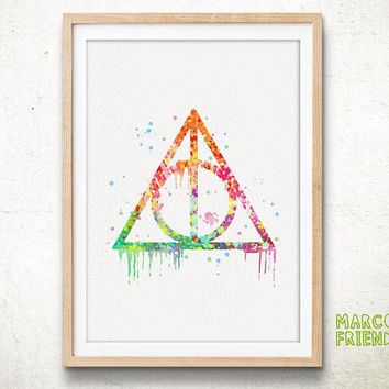 Always Quote, Harry Potter - Watercolor, Art Print, Home Wall decor, Watercolor Print, Harry Potter Poster