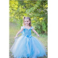Cinderella Wedding Dress Costume and Princess Party Dress