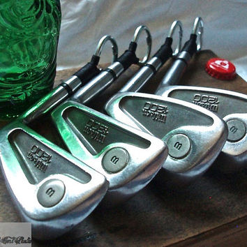4 Golf Club Bottle Openers - Wilson '1200' Irons - Groomsmen Gifts