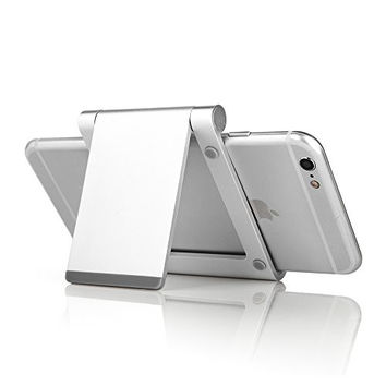 Multi-Angle Phone and Tablet Stand Holder, Foldable Aluminum Mobile Phone Stand Desktop Mount
