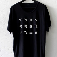 What's Your Zodiac Sign Oversized Tee