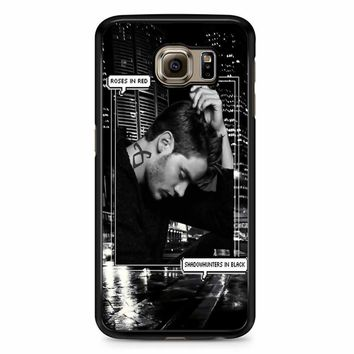 Alec Lightwood Shadowhunters In Black Samsung Galaxy S6 Edge Plus Case