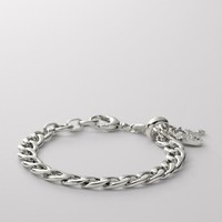 Fossil Small Link Charm Bracelet