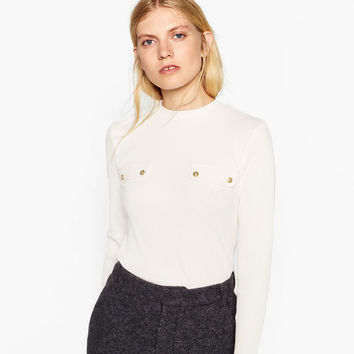 TOP WITH POCKETS