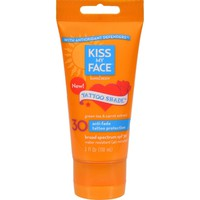 Kiss My Face Sunscreen - Tattoo Shade Spf 30 - 3 Oz