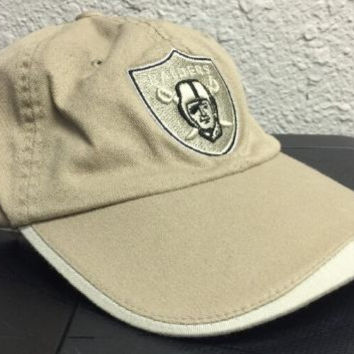Oakland Raiders Reebok Hat Cap Embroidered Licensed New One Size Fits All