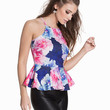 Tight Neck Peplum Top, NLY One