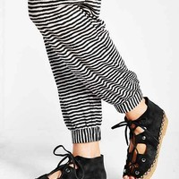 Jeffrey Campbell Karley Lace-Up Moc Flat