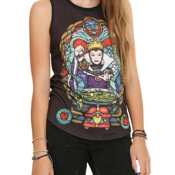 Disney Snow White Evil Queen Girls Muscle Top