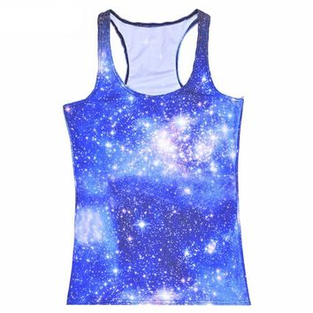 Galaxy Tank Top For Women - All Over Print
