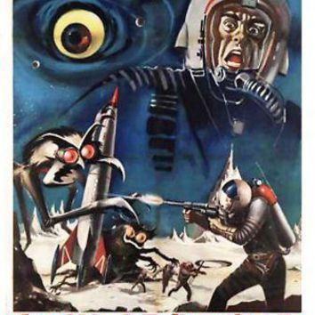 Journey To Seventh Planet Italian movie poster Sign 8in x 12in