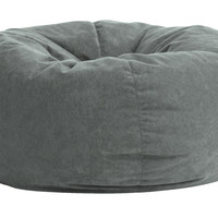 Comfort Suede Steel Grey 5 Ft King Fuf Chair