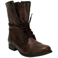 Steve Madden   Troopa Laced Boot at Von Maur