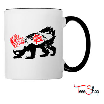 Punk Honey Badger Coffee & Tea Mug